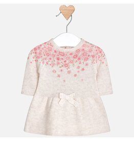 Mayoral Mayoral | Tricot Floral Baby Dress