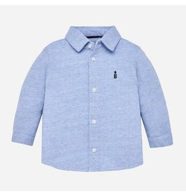 Mayoral Mayoral | Knit Button-Up Dress Shirt
