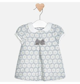 Mayoral Mayoral | Jaquard Floral Baby Dress