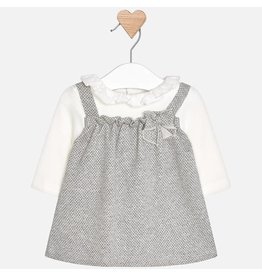 Mayoral Mayoral | Pinafore Baby Dress