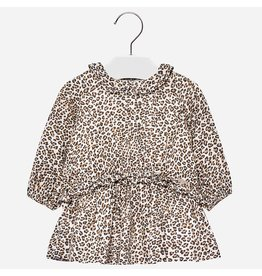 Mayoral Mayoral | Leopard Print Baby Dress