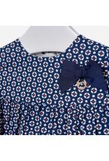 Mayoral Mayoral | Bow Detail Patterned Dress