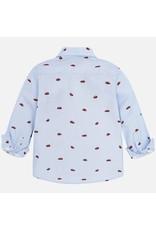 Mayoral Mayoral |Car Button-Up Shirt