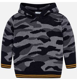 Mayoral Mayoral | Camouflage Hooded Sweater