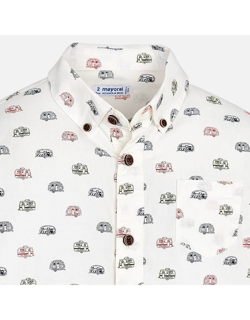 Mayoral Mayoral| Camper Button-Up Shirt