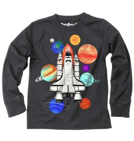 Wes & Willy Wes & Willy | Spaceship Baby Tee