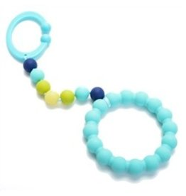 Chewbeads Gramercy Teether Turquoise