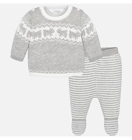 Mayoral Mayoral | Bears Knit Top &  Pant Set