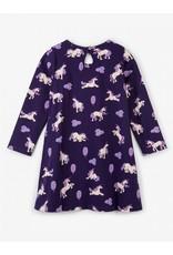 Hatley Majestic Unicorns Trapeze Dress