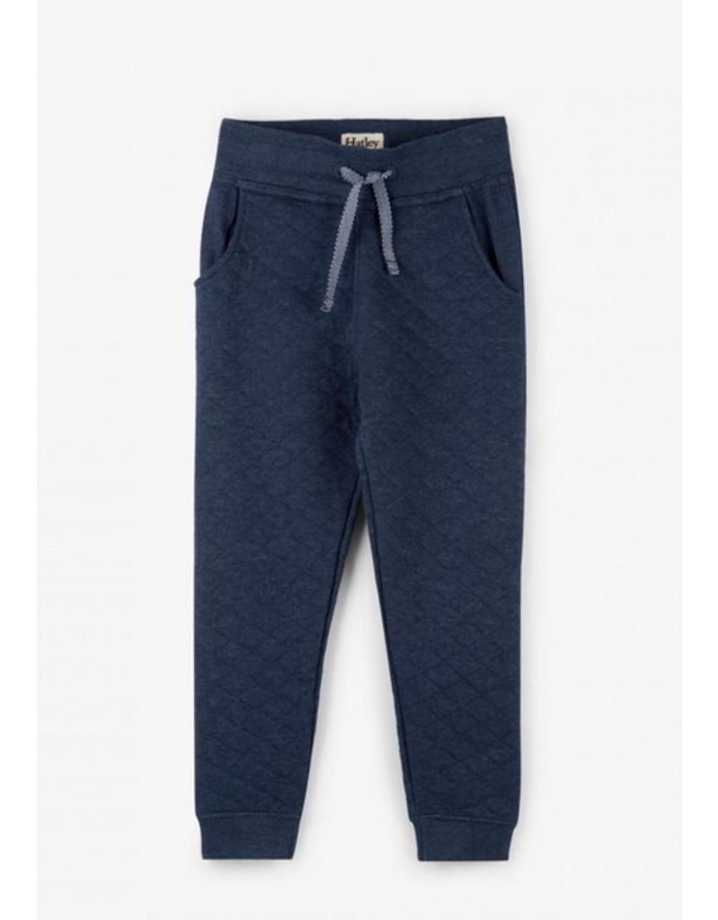 Hatley Navy Quilted Joggers