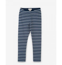 Hatley Navy Stripe Leggings