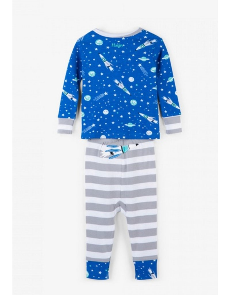 Hatley Organic Outer Space Baby Pajama Set