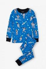 Hatley Athletic Astronaut Pajama Set