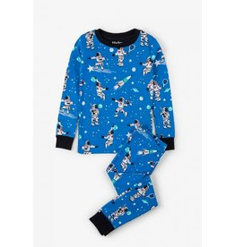 Hatley Athletic Astronaut Pajama Set