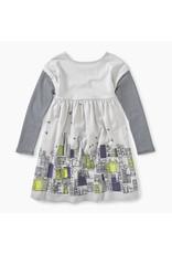 Tea Collection Tea Collection| Cityscape Graphic Dress