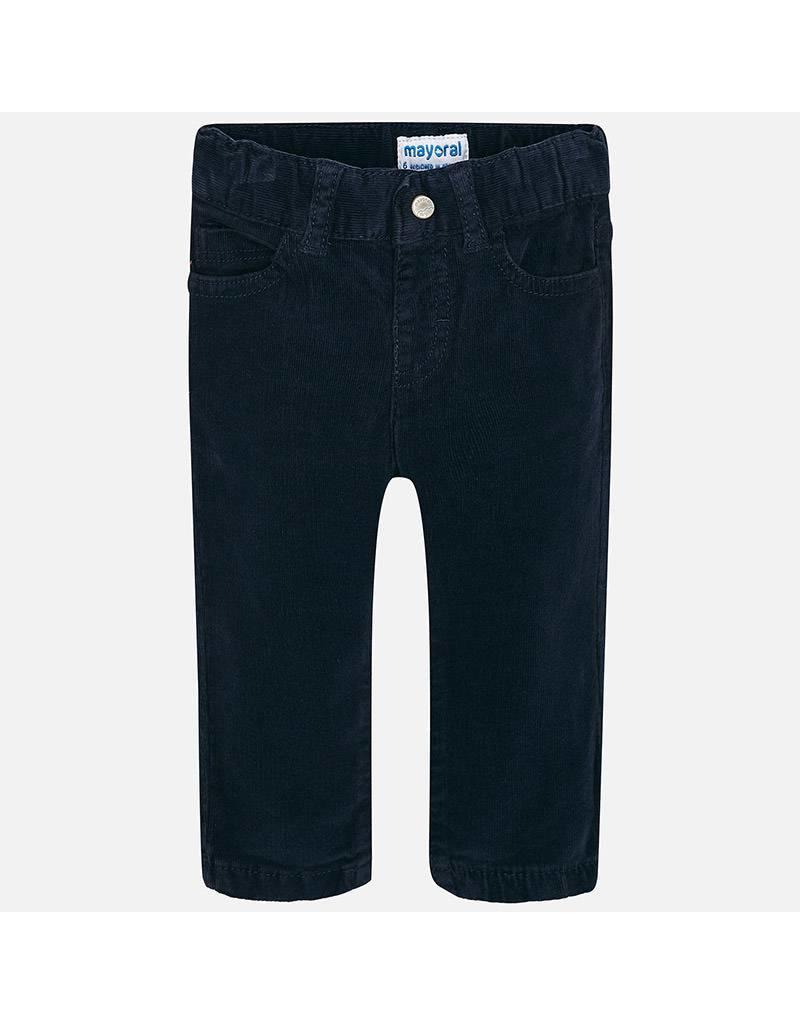 Mayoral Mayoral|Slim Fit Corduroy Trousers