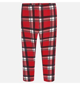Mayoral Mayoral | Red Tartan Leggings