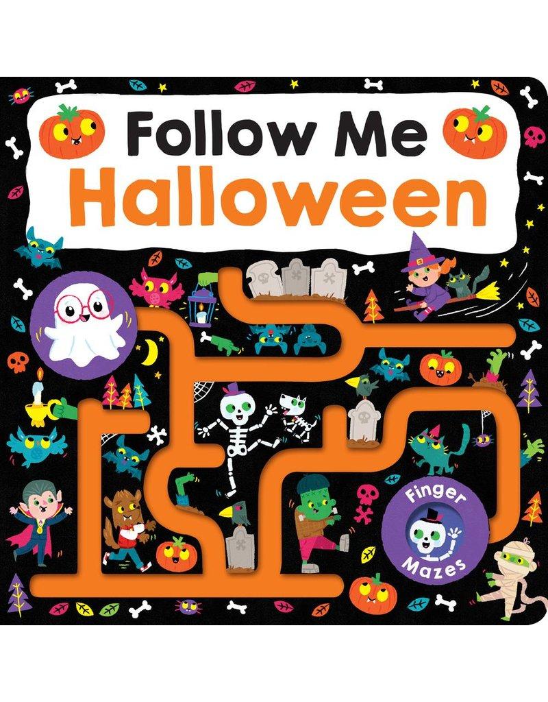Finger Mazes:  Follow Me Halloween