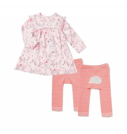 Angel Dear Angel Dear | Wildwood Dress & Legging Set