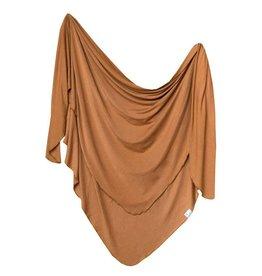 Copper Pearl Copper Pearl | Camel Single Knit Blanket