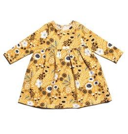 Winter Water Factory Winter Water Factory | Geneva Baby Dress in Yellow Wildflowers