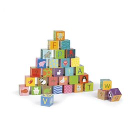 Janod Janod | Kubkid 32 Alphabet Block Set