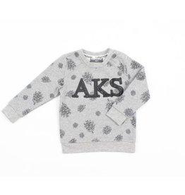Romy &  Aksel Romy & Aksel | Pinecone Print Baby Sweatshirt