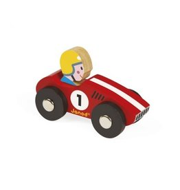 Janod Janod Wooden Racer | Red