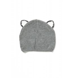 Angel Dear Angel Dear | Grey Fox Ear Hat