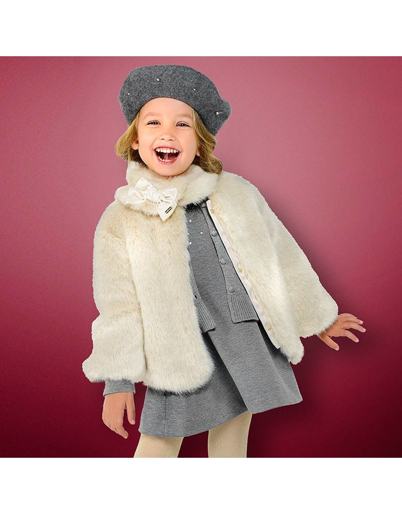 Mayoral Mayoral | Faux Fur Jacket