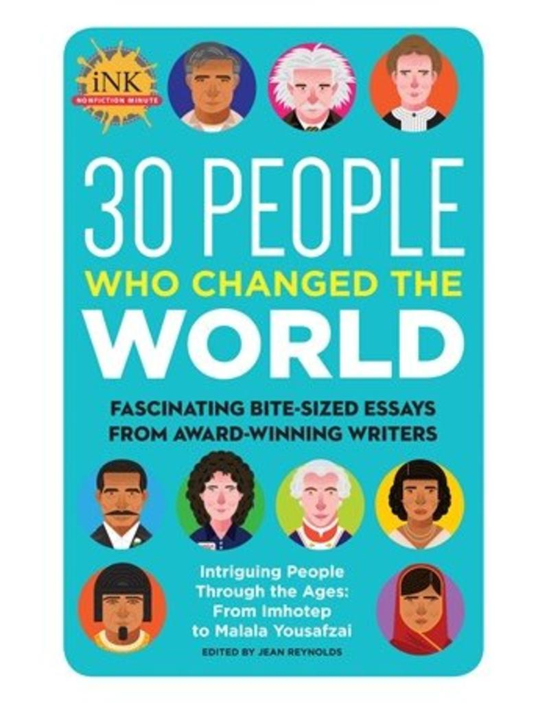 30 People Who Changed the World
