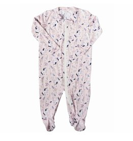 Nohi Kids Nohi Kids | Bamboo Blend Unicorn Footie