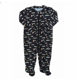 Nohi Kids Nohi Kids | Bamboo Blend Night Sky Footie