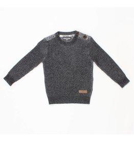 Romy &  Aksel Romy & Aksel   Button Shoulder Sweater