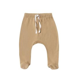 Quincy Mae Quincy Mae | Footed Pant in Honey