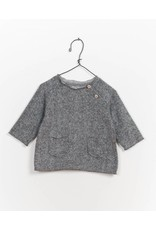 Play Up Play Up | Button Shoulder Fleece Sweater