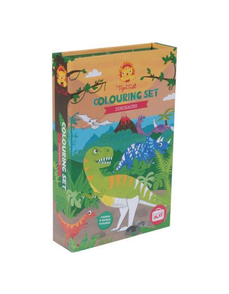 Dinosaur Coloring Set Nurture Baby Sticker Activity Books My Big And Mighty