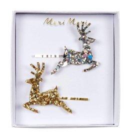 Meri Meri Meri Meri | Glitter Reindeer Hair Slides