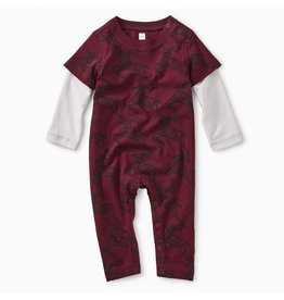 Tea Collection Tea Collection | Scandi Stag Layered Romper