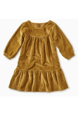 Tea Collection Tea Collection| Velour Ruffle Dress
