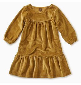Tea Collection Tea Collection | Velour Ruffle Dress