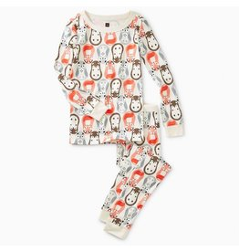 Tea Collection Tea Collection | Nesting Dolls Pajama Set
