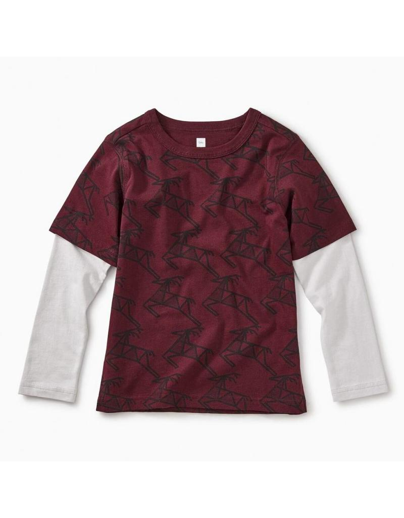 Tea Collection Tea Collection| Scandi Stag Layered Tee