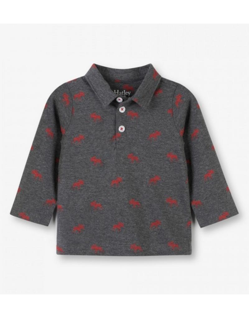 Hatley Hatley   Red Moose Baby Polo