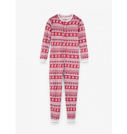 Hatley Hatley | Fair Isle Fawn Holiday Pajama