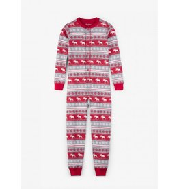 Hatley Hatley | Fair Isle Moose Holiday Pajama