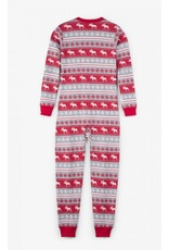 Hatley Hatley |Fair Isle Moose Holiday Pajama