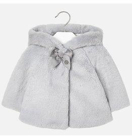 Mayoral Mayoral | Hooded Faux Fur Coat