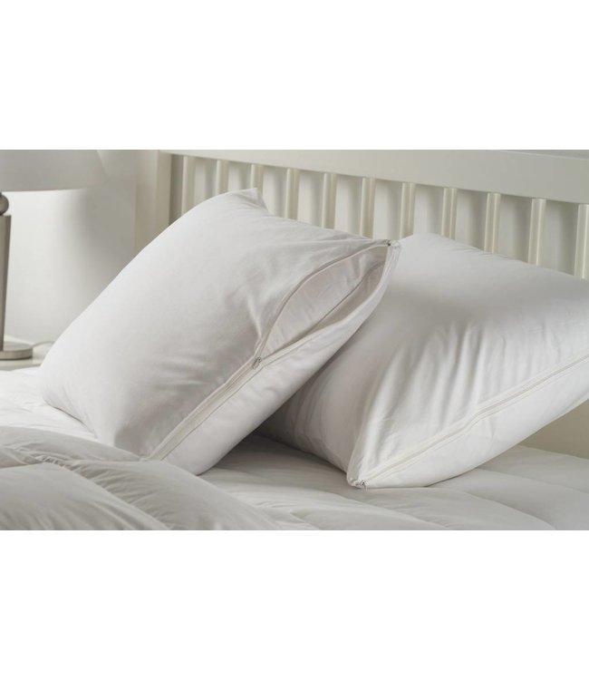 W - Home 200TC Cotton Pillow Protectors (pair)