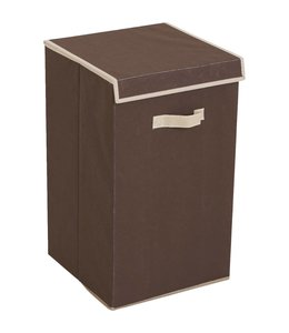 Studio 707 Fabric laundry  hamper with lid - Taupe